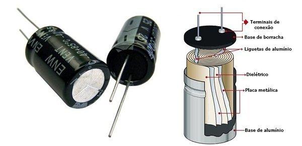 Capacitores eletricos Energibell