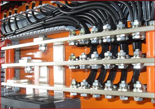 Serviço eletrico industrial