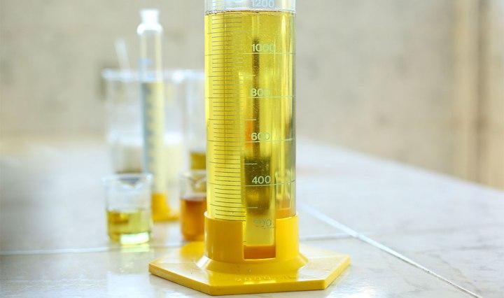 Análise fisico quimica e cromatografica de oleo isolante